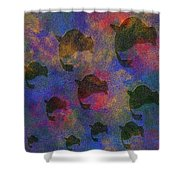 0885 Abstract Thought Shower Curtain