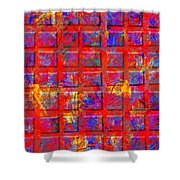 0890 Abstract Thought Shower Curtain