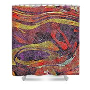 0906 Abstract Thought Shower Curtain