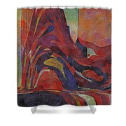 0910 Abstract Thought Shower Curtain