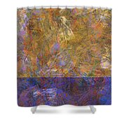 0913 Abstract Thought Shower Curtain