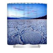0919 Badwater Basin Shower Curtain