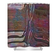 0922 Abstract Thought Shower Curtain