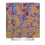 0930 Abstract Thought Shower Curtain