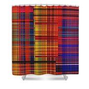 0942 Abstract Thought Shower Curtain