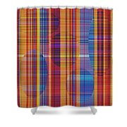 0946 Abstract Thought Shower Curtain