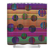 0948 Abstract Thought Shower Curtain