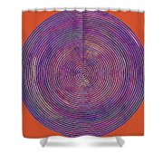 0965 Abstract Thought Shower Curtain