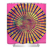 0966 Abstract Thought Shower Curtain