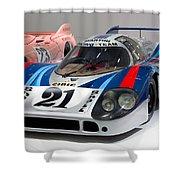 1971 Porsche 917 Lh Coupe Shower Curtain