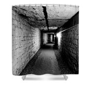 Image Of The Catacomb Tunnels In Paris France Shower Curtain
