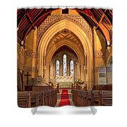 St Giles Shipbourne Shower Curtain