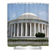 Thomas Jefferson Memorial Shower Curtain