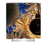 001 Silent Night Series Shower Curtain