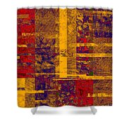 0161 Abstract Thought Shower Curtain