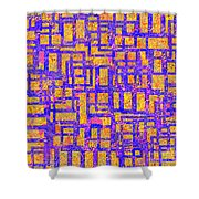 0194 Abstract Thought Shower Curtain
