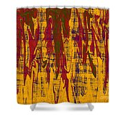 0280 Abstract Thought Shower Curtain