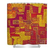 0296 Abstract Thought Shower Curtain
