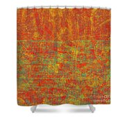 0313 Abstract Thought Shower Curtain