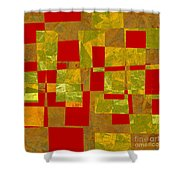 0393 Abstract Thought Shower Curtain