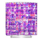 0397 Abstract Thought Shower Curtain