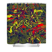 0399 Abstract Thought Shower Curtain