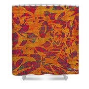 0450 Abstract Thought Shower Curtain