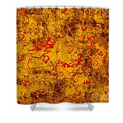 0503 Abstract Thought Shower Curtain
