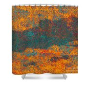0510 Abstract Thought Shower Curtain