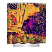 0548 Abstract Thought Shower Curtain