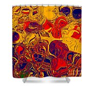 0576 Abstract Thought Shower Curtain