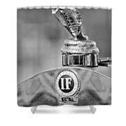 1924 Isotta-fraschini Tipo 8 Torpedo Phaeton Hood Ornament Shower Curtain