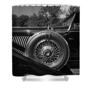 1929 Duesenberg Model J Covertible Coupe By Murphy Shower Curtain