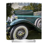 1929 Isotta Fraschini Tipo 8a Convertible Sedan Shower Curtain