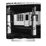 1929 Ralph's Service Station Armory Park Tucson Arizona Shower Curtain