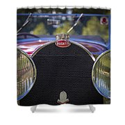 1930 Bugatti Type 50 Drop Head Coup Shower Curtain