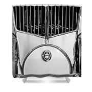 1930 Cord L-29 Speedster Grille Emblem Shower Curtain