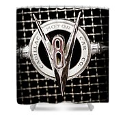 1931 Cadillac Emblem Shower Curtain