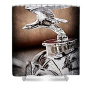 1932 Alvis Hood Ornament - Emblem Shower Curtain