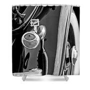 1932 Buick Series 60 Phaeton Taillight Shower Curtain