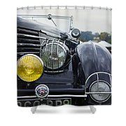 1935 Delage Shower Curtain