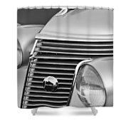1937 Studebaker Grille  Shower Curtain