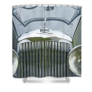 1938 Bentley Shower Curtain