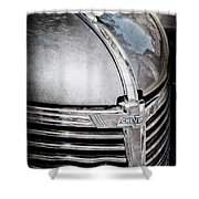 1938 Chevrolet Hood Ornament - Emblem Shower Curtain