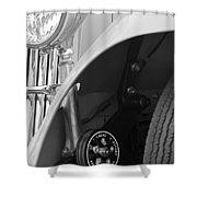 1939 Aston Martin 15-98 Abbey Coachworks Swb Sports Suspension Control Shower Curtain