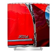 1939 Ford Grille Shower Curtain