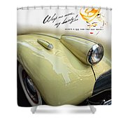 1940 Buick 41c Shower Curtain