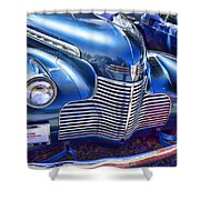 1940 Chevy Grill Shower Curtain