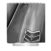 1940 Ford Deluxe Coupe Taillight Shower Curtain