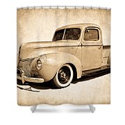 1940 Ford Pickup Shower Curtain
